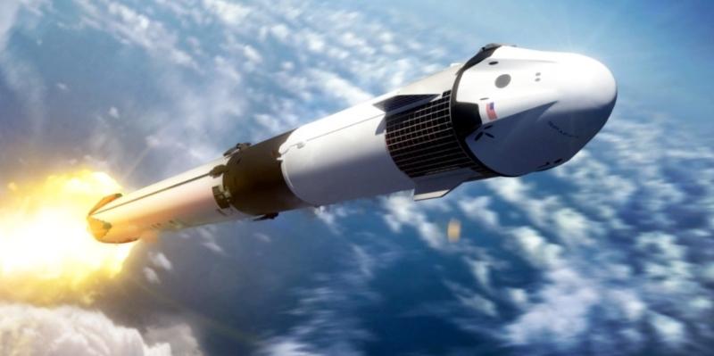 SpaceX realiza con éxito el lanzamiento tripulado de la misión Demo-2