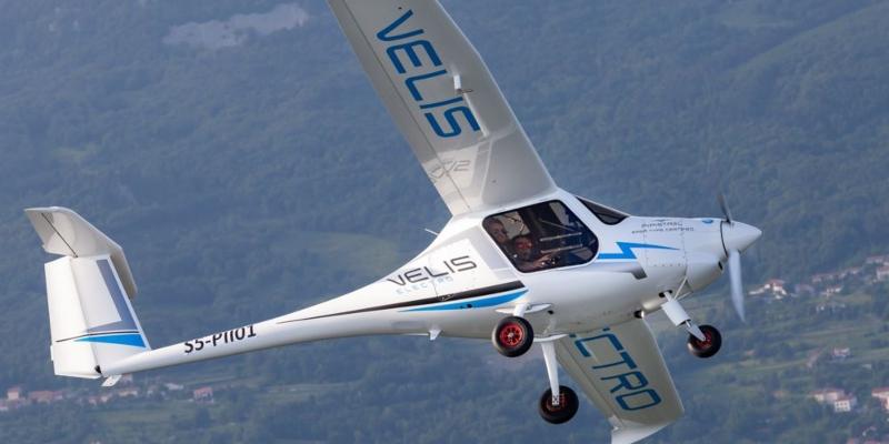 El avión 100% eléctrico Pipistrel Velis Electro