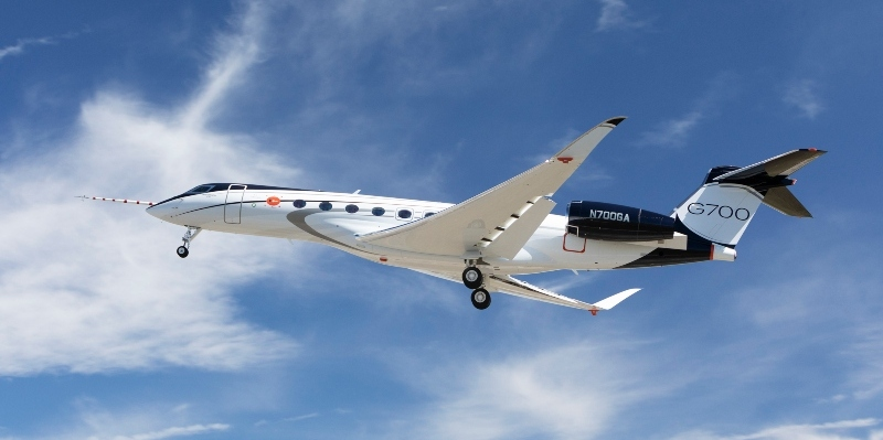 El primer vuelo del Gulfstream G700